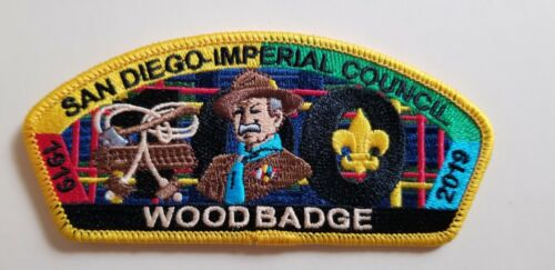 Wood Badge 100th anniversary CSP from San Diego- Imperial Council