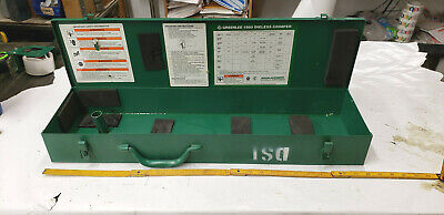 Greenlee 1990 Dieless Crimper Empty Metal Carry Case Box Only Shelf 46 Basement