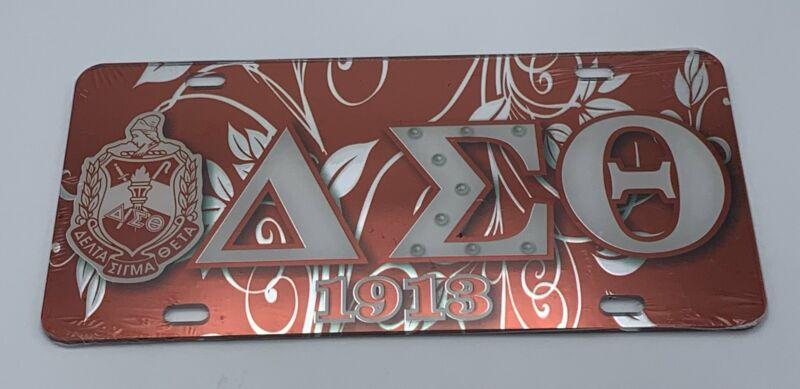 Delta Sigma Theta - Acrylic License Plate