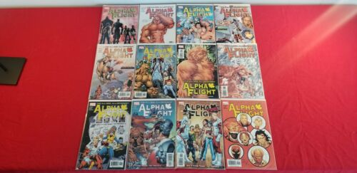 Alpha Flight (2004 Marvel) #1-12 Complete Story! Written by Scott Lobdell
