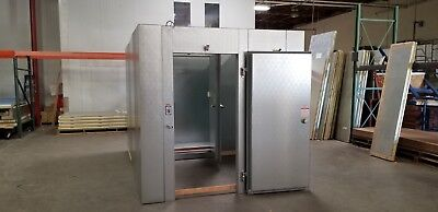 New Commercial Cooling 8 x 12 x 8 Cooler / Freezer Combo w/ Remote Refrigeration