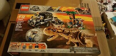 LEGO 75929 Jurassic Park World Carnotaurus Gyrosphere Escape Trex New Sealed