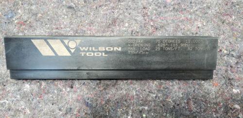 "Wilson press brake tool 50294X 12"""