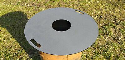 Feuerplatte Plancha für Stahlfässer Öltonnen Männer-Fondue Grillplatte Ø74cm 5mm