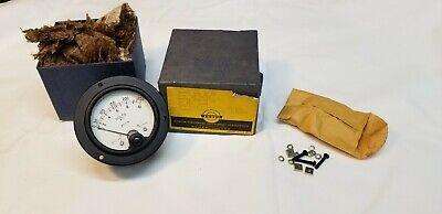 Weston Ac Meter Nos Model 476 Ac Vm Range 10 Volts Sc 10-250 3 12 Inch Bakelite