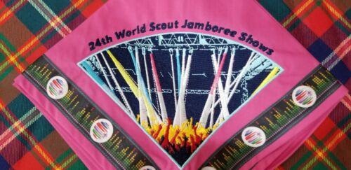 2019 24th World Scout Jamboree Shows IST Neckerchief