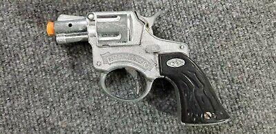 Vintage HALCO DIECAST TOY CAP GUN SPECIAL AGENT SNUB NOSE 7 1/2 LONG