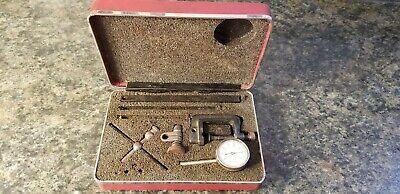 Vintage L.s. Starrett Dial Test Indicator Iob No. 196 Lot 812