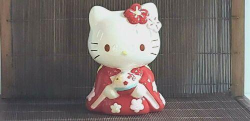 Sanrio Co., Ltd. Hello Kitty Kimono Dress Ceramic Bank 2009