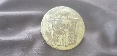 Stunning rare 1700 hundreds Dandy button uncleaned condition found England. L85f