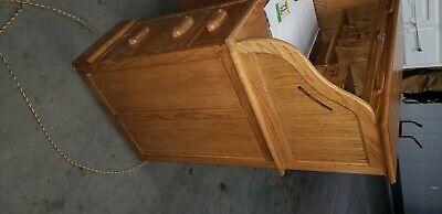 Furniture Roll Top Desk Vatican