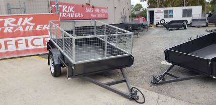 8x5 heavy duty trailer and cage AUSSIE MADE Bayswater Knox Area Preview
