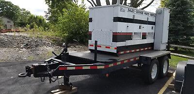 48 Kw Olympian Caterpillar Diesel Generator Excellent Condition Multi Tap Port