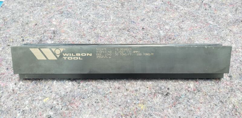 "Wilson press brake tool 50297S 18"""