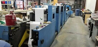 Stevens 3 Color Offset Business Forms Press