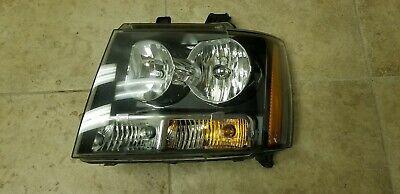 OEM 2007-2014 Chevrolet Avalanche Tahoe Halogen Headlamp Headlight Left Side
