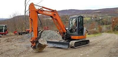 2013 Hitachi Zx60 Excavator Fully Loaded Low Hours Ready To Work In Pa Finance