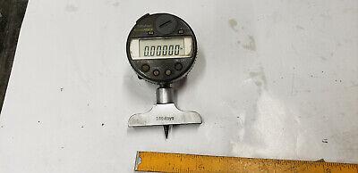 Mitutoyo 543-252 Digital Indicator 2 Depth Gage Base Wnew Battery. Sn13097