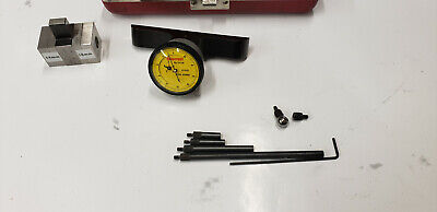 Starrett 642m Metric Dial Indicator Depth Gage Set Wstandards Wetchings. Lot2