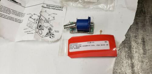 NEW Parker Miller 330-621A-4-10-0115 Solenoid Valve 115vac for 304 or 504 Bonnet