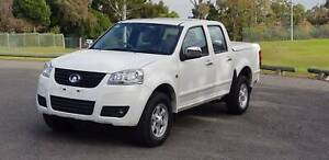 2013 Great Wall V200 K2 (4x2) White 6 Speed Turbo Diesel Dual Cab Ute North Rocks The Hills District Preview