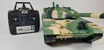 Radio Control RC Airsoft Heng Long Army War Model Battle BB Firing T-99 Tank (Rc Airsoft Tank)