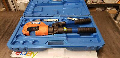Thomas Betts Tbm14mc 14-ton Hydraulic Hand Crimper In Case. No Dies