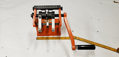 Ok Industries Cb-2001 Hand Operated Component Lead Former. Used