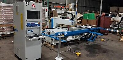 Masterwood Project 416k Cnc Router Machine Center Working 10x534.3 Can Ship
