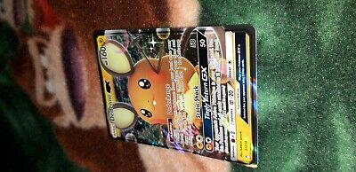 1X NM Foil Dedenne GX Full Art Rare Sun & Moon Unbroken Bonds Card 57/214 Pics!