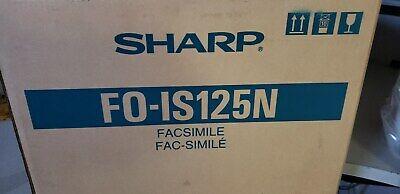 Sharp Fo-is125n Brand New Machine. Fax Copier Printer Scanner