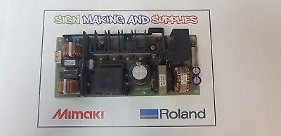 Genuine Roland Soljet Pro Iii Xc-540 Printer Power Unit 1000000538
