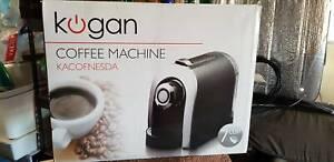 Kogan Coffee Machine Brand New