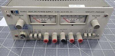 Agilent Hp Keysight 6205c Dual Dc Power Supply 0-20vdc .3a Or 0-40vdc .6a