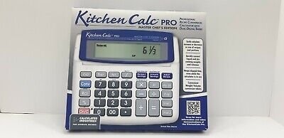 Kitchen Calc Pro 8305 Master Chef
