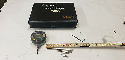 Mitutoyo 547-258 Digitmatic 0-8 Depth Gage Gauge 543-252b .5-.00005 Res Lot2