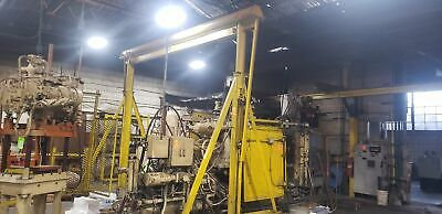 16 Foot Wide 2 Ton Capacity Portable A-frame Gantry Crane On Casters Inv90374