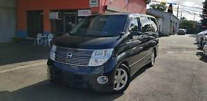 2008 Nissan Elgrand 2.5L, 8 SEAT LUXURY WAGON WITH REGO&RWC Fawkner Moreland Area Preview