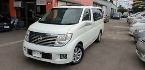 2004 Nissan Elgrand XL 7 Seat Luxury Wagon with Rego & Rwc Fawkner Moreland Area Preview