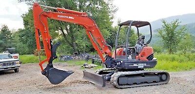 Kubota Hydraulic Mini Excavator Thumb Grapple Clamp Claw Kx161 U45 U50 U55