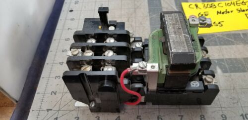 GENERAL ELECTRIC  SIZE 1 MOTOR STARTER CR308C104EGA TESTED WORKING PULL [Z3S5#5