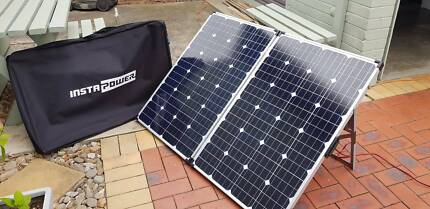Instapower 200w Folding Solar Panel Box Hill Whitehorse Area Preview