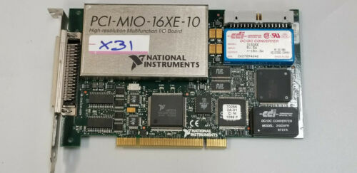 National Instruments PCI-MIO-16XE-10 High-Resolution Multifunction I/O Board#X31