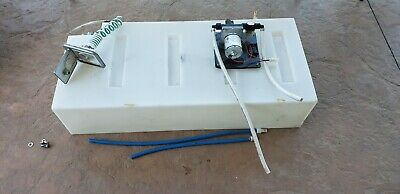 31 Gallon Clean Fresh Water Tank Reservoir With Water Pump Rv Motorhome