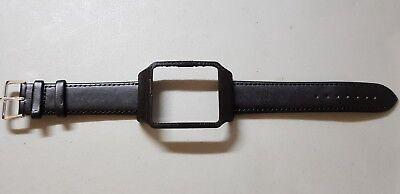 Sony SmartWatch 3 SWR50  Black Housing & Black Calf Leather Strap