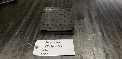 Suburban Sp-66-s1 6x6x2 Sine Plate No Locking Strap. Lot2