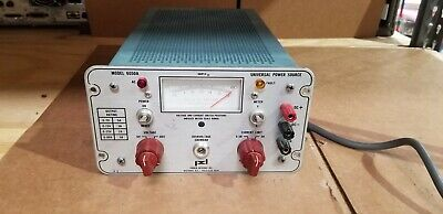 Power Designs 6050a Dc Power Supply Unit 2