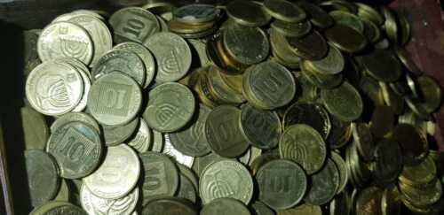 1) Random Date Israel Coin - 1994 to 2015 - 10 Agorot Israeli Shekel - 10 Agora