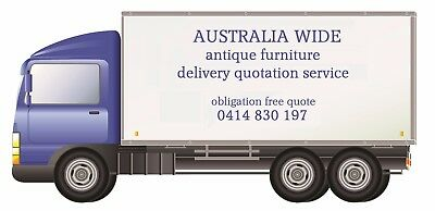 Delivery Quotes ONLY FOR FURNITURE FOR SALE BY baileyfrenchantiques Seaford Vic