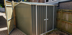 Supply and install garden sheds